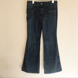 Pilcro and the Letterpress Bell Bottoms Size 31
